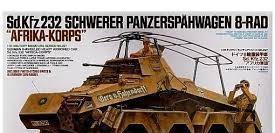 Sd.kfz.232 schwerer panzerspähwagen 8-rad