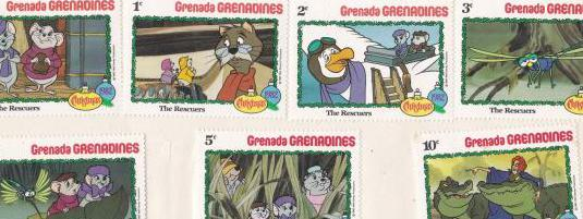 Sellos grenada-grenadines los rescatadores
