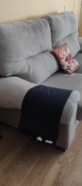 Sofá tela rustica