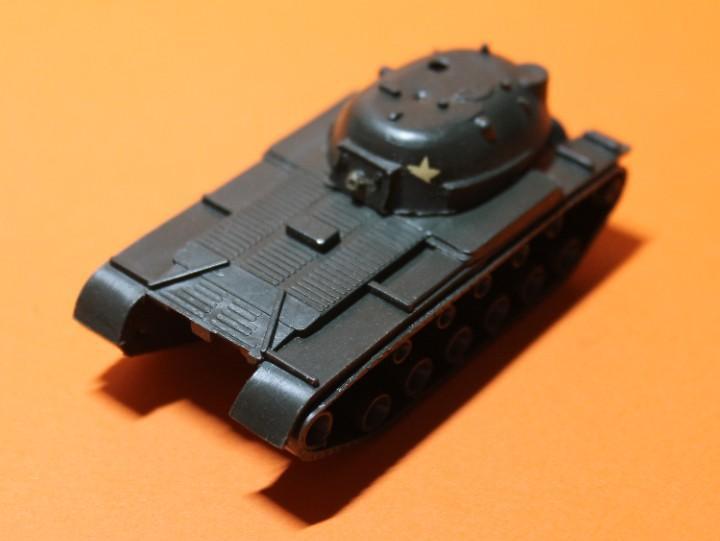 Tanque ejercito eeuu marca eko. modelo m-48. escala 1:88.