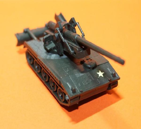 Tanque ejercito eeuu. marca eko. modelo t-245. escala 1:88.