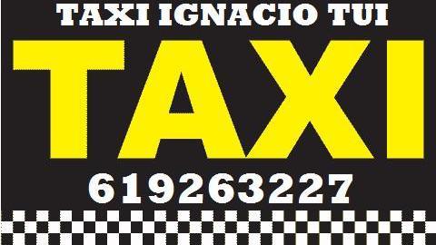 Taxi ignacio tui servicio 24 horas