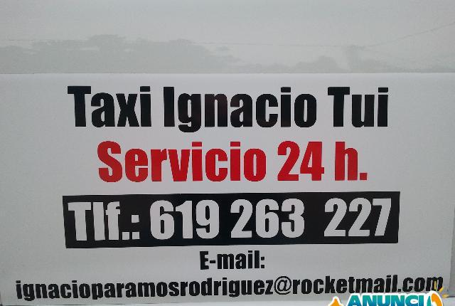 Taxi ignacio tui servicio 24 horas - pontevedra