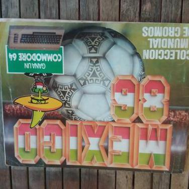 Album futbol mexico86