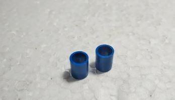 Azul tubo - tente (2 unidades)
