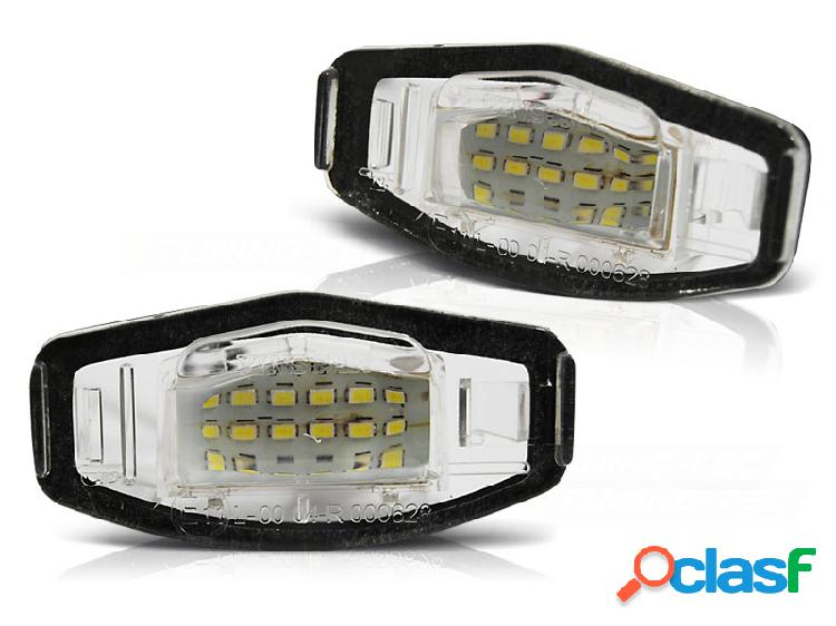 Luces matricula honda civic/city/legend/accord led
