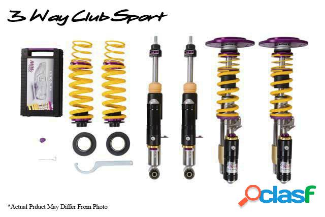 Kw suspension clubsport con copelas 3- vias bmw m3 (e46); (m346) año