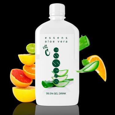 Aloe vera 99.5% bebida gel - vitamina c