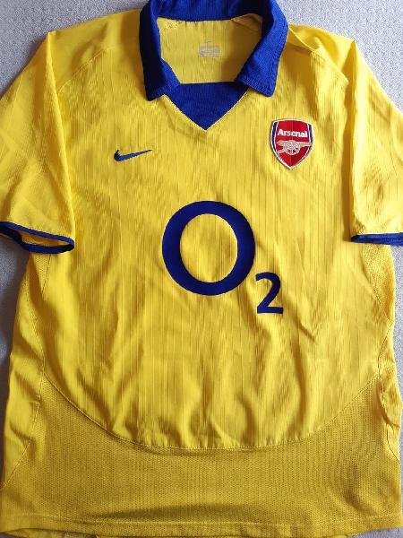 Arsenal 2003-04 m 2a camiseta
