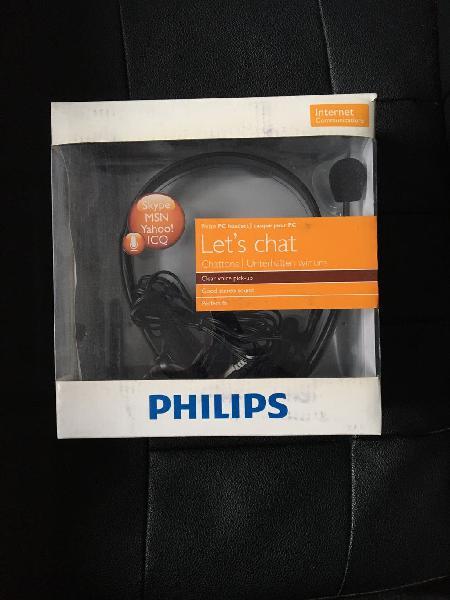 """Auriculares con micrófono """"let's chat"""" de philips"""