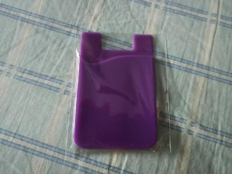 Bolsillo adhesivo para funda de móvil