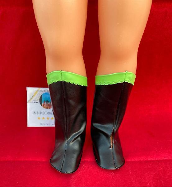 Botas raya verde original de nancy