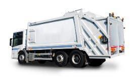 Camion compactador de basura
