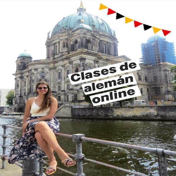 Clases online de alemán a 8 euros la hora