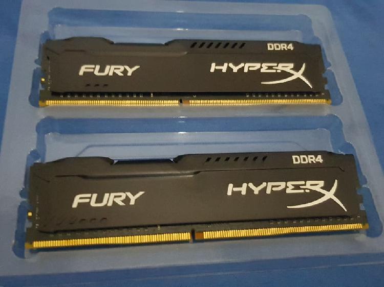 Ddr4 16gb 2133 kingston fury hyperx .