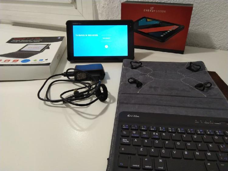 """Energy tablet neo 3 7"""" + teclado + funda"""