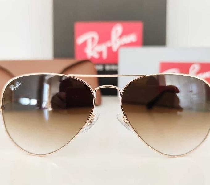 Gafas de sol rayban aviador gradient nuevas