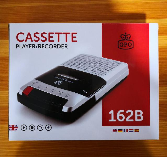 Grabador/reproductor de cassettes msx