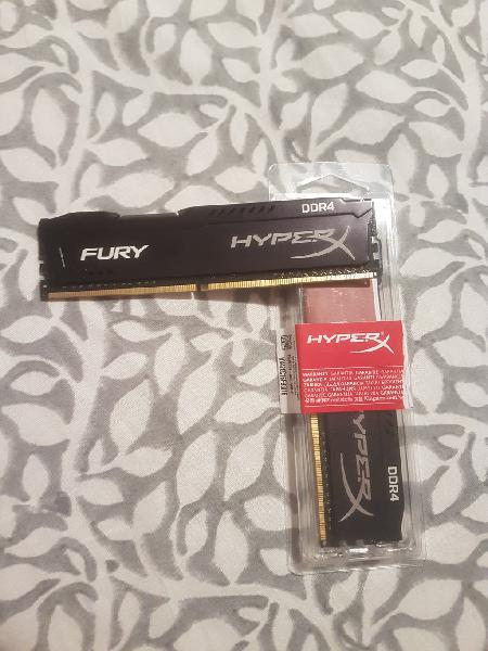 Kingston furyx ddr4 2x4gb(8gb)