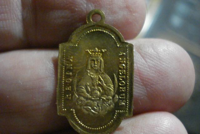 Medalla san felipe neri italia año 1895 y virgen preciosa