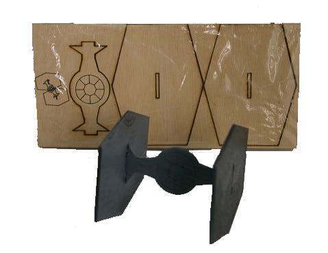 Maqueta de madera láser