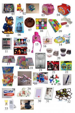 Nuevo anuncio lote productos regalos y juguetes