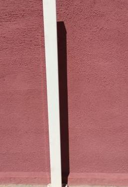 Poste modelo hércules blanco y base