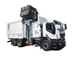 Reparación camión basura