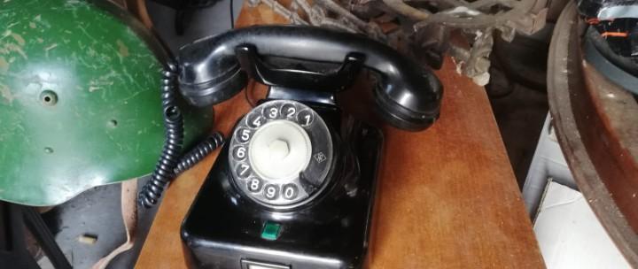 Teléfono de baquelita, perfecto, siemens, hecho para