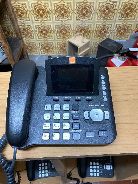 Teléfono de sobremesa cocomm f800 orange gama 501