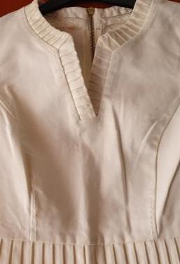 Vestido pedro del hierro blanco roto