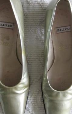 Zapatos de mujer plateado ballco nº. 37