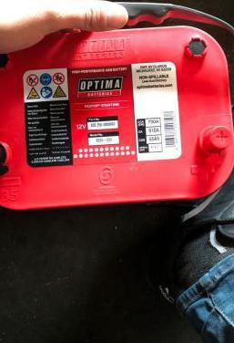 Bateria marca optima agm nueva sin usar