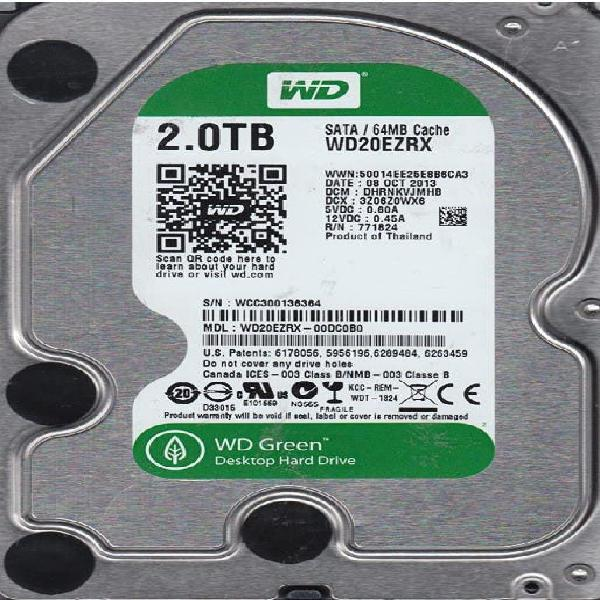 Disco duro western digital 2tb
