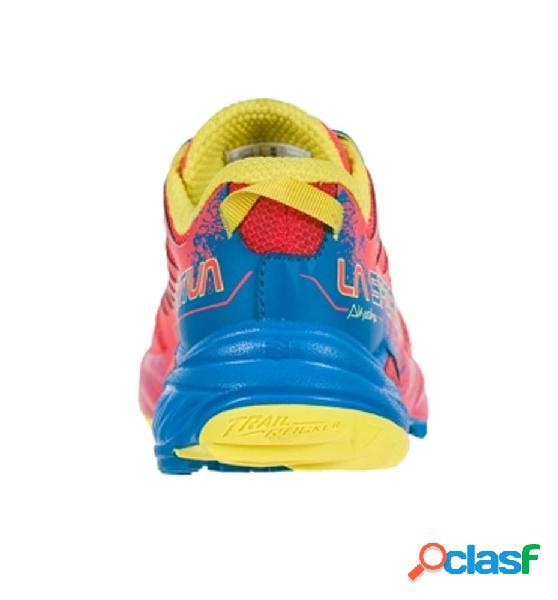 Zapatillas trail running mujer la sportiva akasha w 39.5 rojo