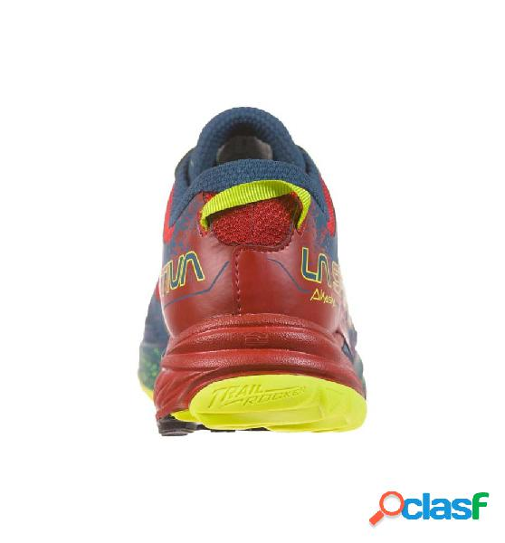 Zapatillas trail running hombre la sportiva akasha 42 azul