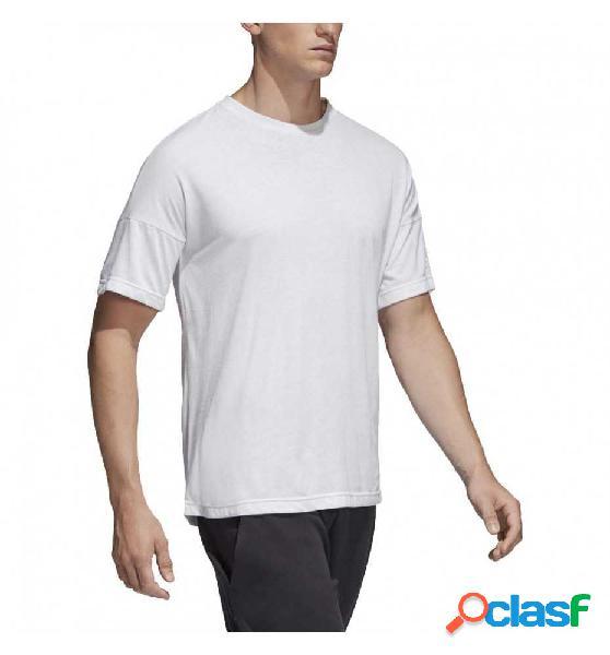 Camiseta casual adidas zne tee 2 blanco xl