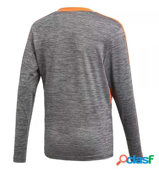 Camiseta casual adidas yb p ls jersey 176 gris