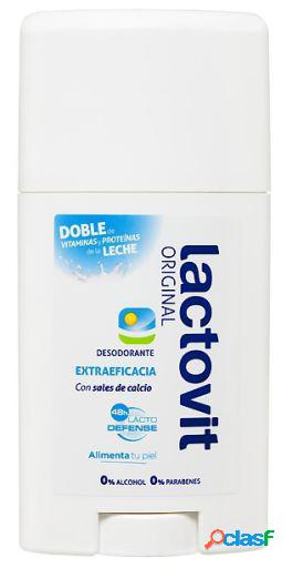 Lactovit desodorante stick original lactovic 50 ml