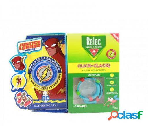 Relec pulsera antimosquitos + stick flash