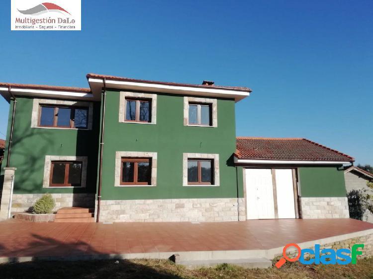 Preciosa casa obra nueva con parcela e inmejorable situacion