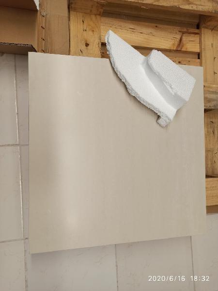 20 m² baldosa porcelánica suelo pared 60 x 60.