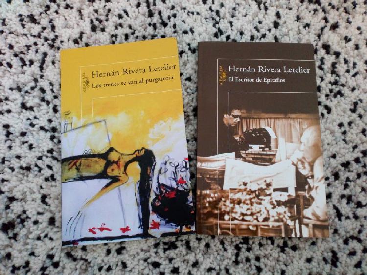 2libros de hernán rivera letelier