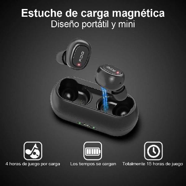 Auriculares inalámbricos qcy bluetooth 5.0 sonido