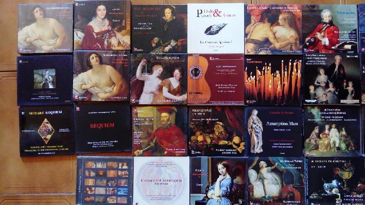 Cds de glossa música antigua y clásica oferta 2x3