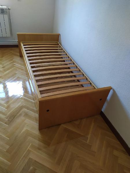 Cama nido con dos camas