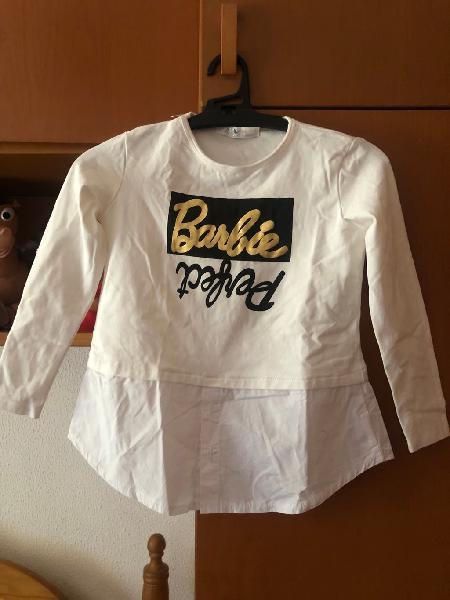 Camiseta barbie niña 6 años