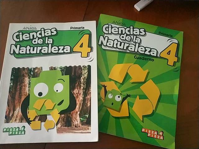 Ciencias de la naturaleza. anaya. 4 primaria