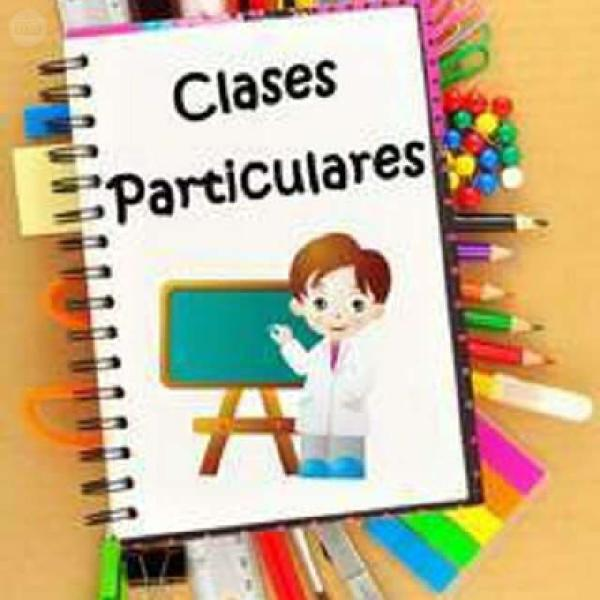 Clases particulares / classes particulars