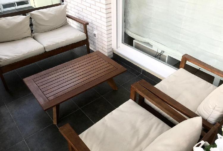 Conjunto muebles terraza